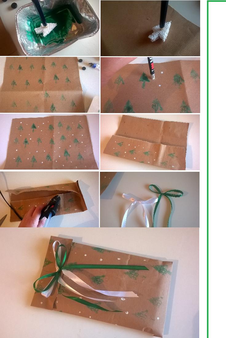 How to Carta regalo fai da te, packaging for christmas