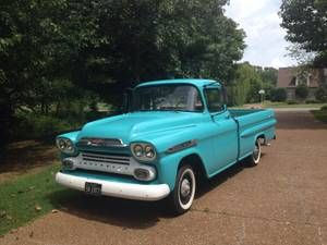 Nashville For Sale 1959 Craigslist Chevrolet Apache