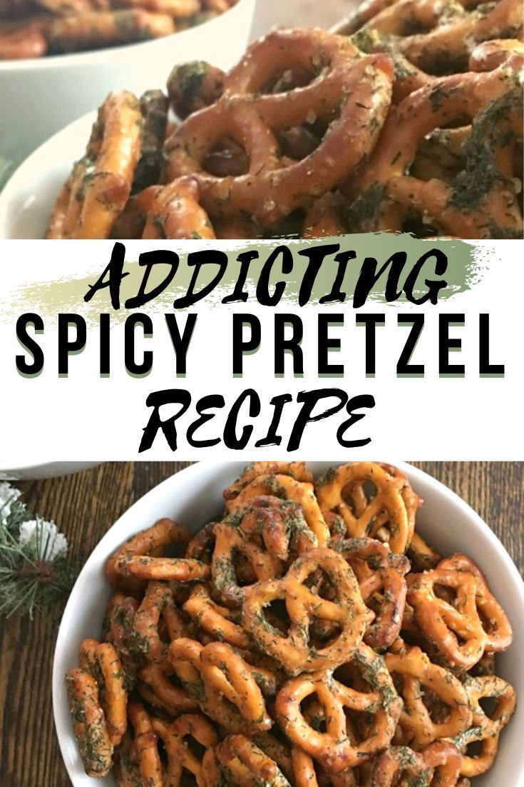 Addictive Spiced Pretzels! You NEED this easy, tasty, and