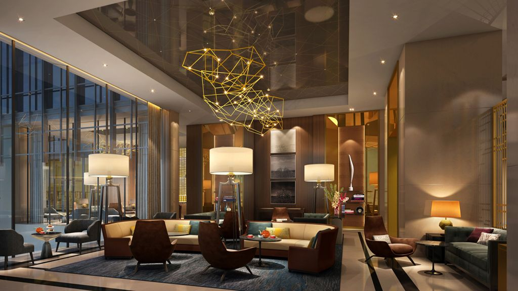 Lobby Decors Always Need A Luxurious Suspension Lamp