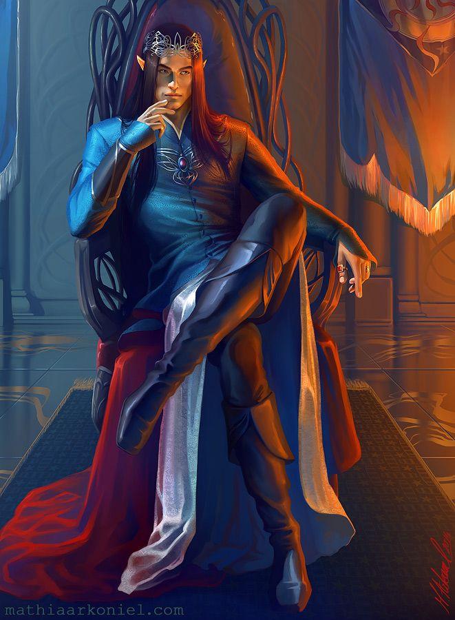 silmarillion: Fingolfin by MathiaArkoniel.deviantart.com on @deviantART