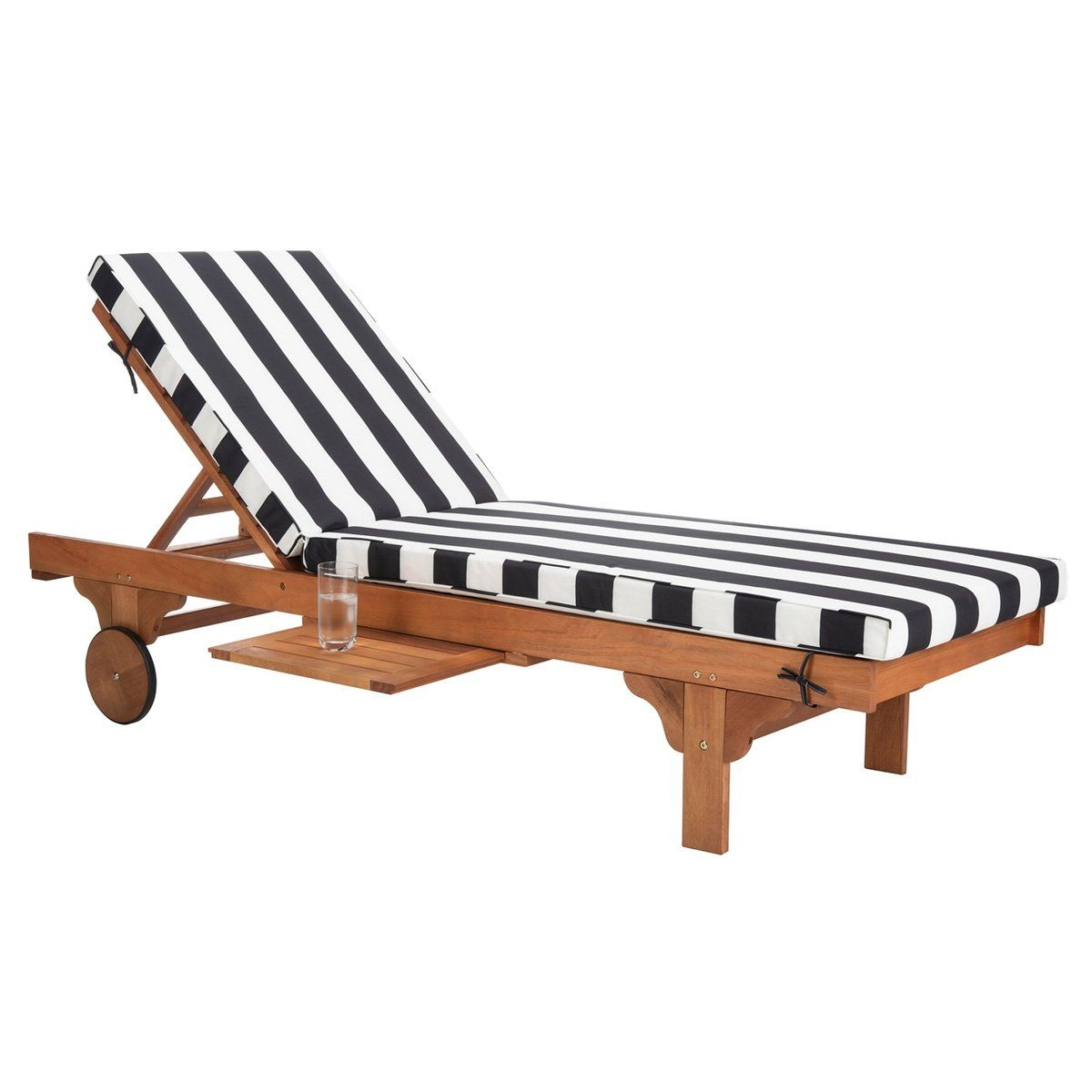 Tiffany Striped Outdoor Chaise Lounge In 2021 Lounge Chair Outdoor Outdoor Chaise Lounge Chair Outdoor Chaise