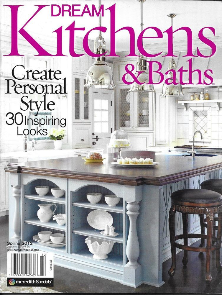 Dream Kitchens and Baths magazine Classic Traditional ...