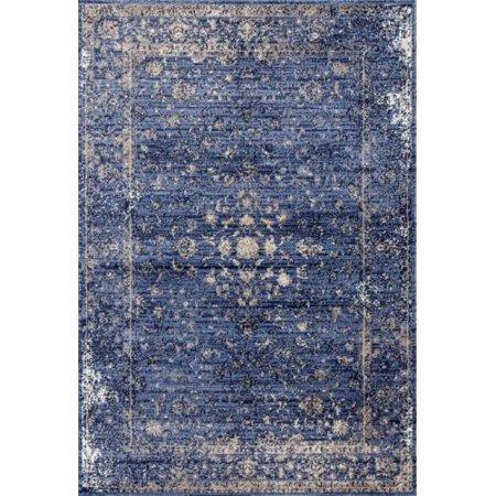2817 Distressed Blue 5 X 7 Area Rug Carpet Large New