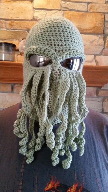 09eecec5772 Ski mask plus tentacles   Cthulhu!