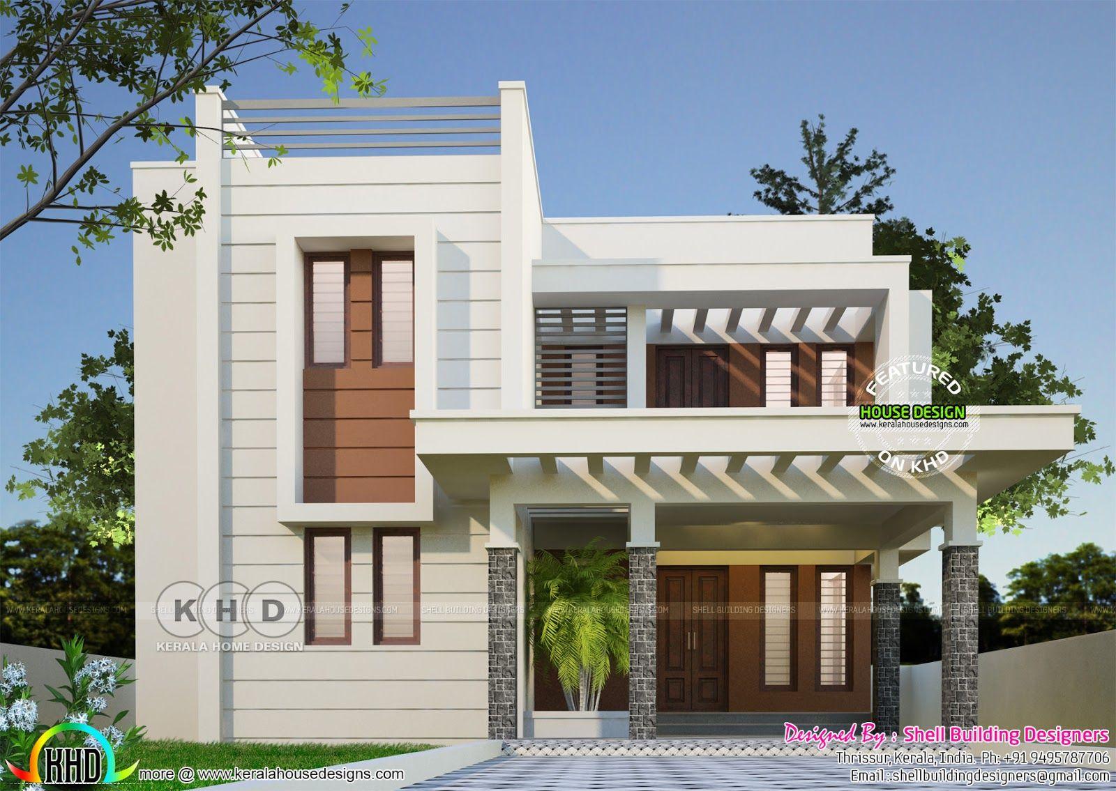 Immeuble plan maison maquette art déco moderne conception de maison de