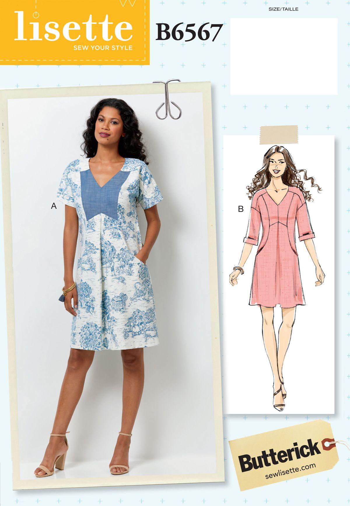 introducing lisette for butterick B6567 | Sew Inspiring | Pinterest
