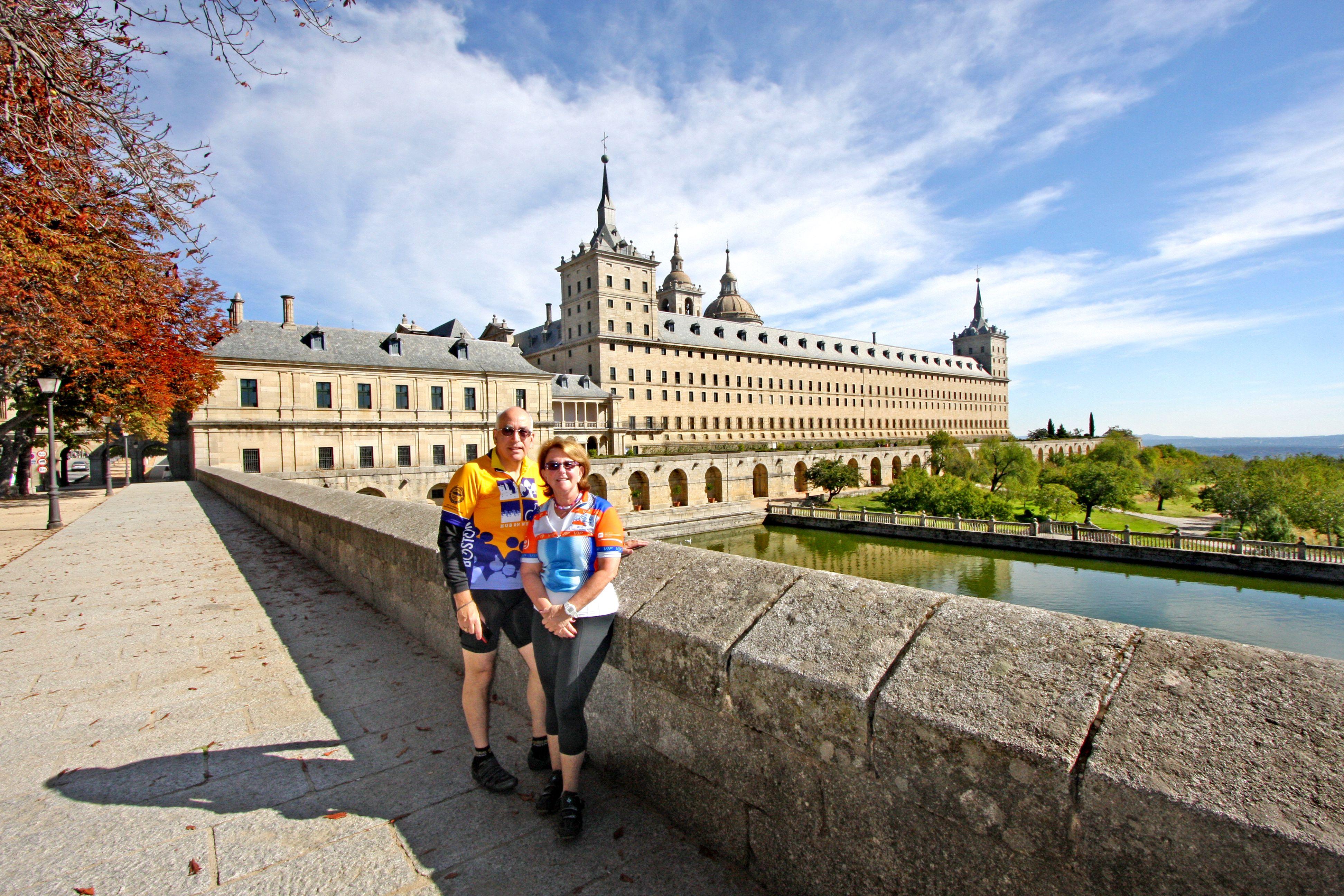 Visit Beautiful Historical Sites Around Madrid Madrid Cycling Bike Tour Madrid City Spain Tour