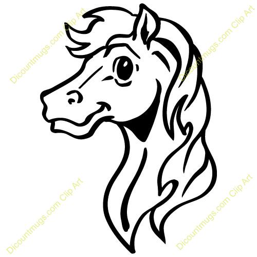 Clipart Horse Head People Who Have Use This Clip Art 14611 Cutebabyhorsehead Has Cute Baby Horses Clip Art Horse Head