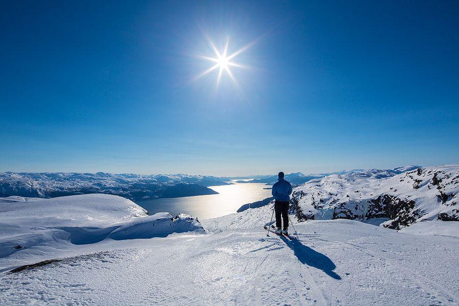 Hardanger fjorden Norway