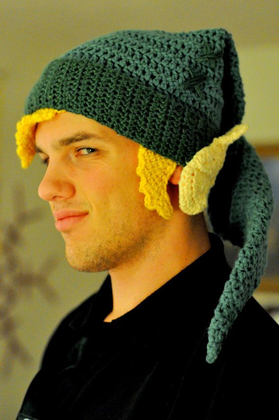 Legend of Zelda Link Stocking Hat with Ears and Hair | Stockings ...