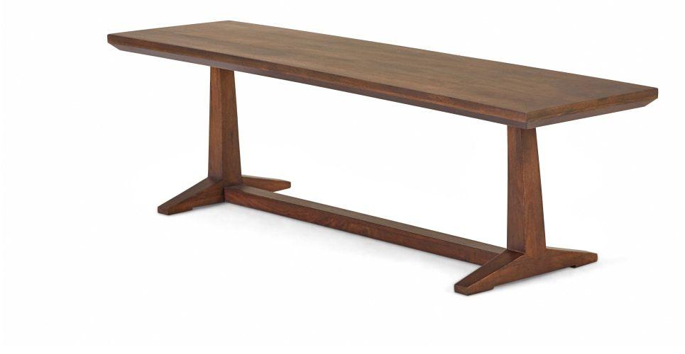 Made Com Wood Bench Furniture
