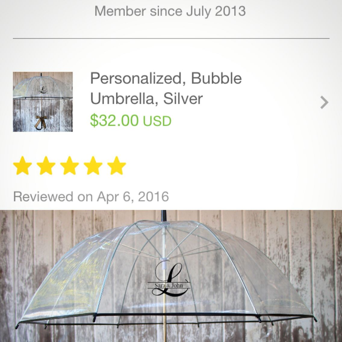 gift idea our personalized umbrellas make adorable bridal or