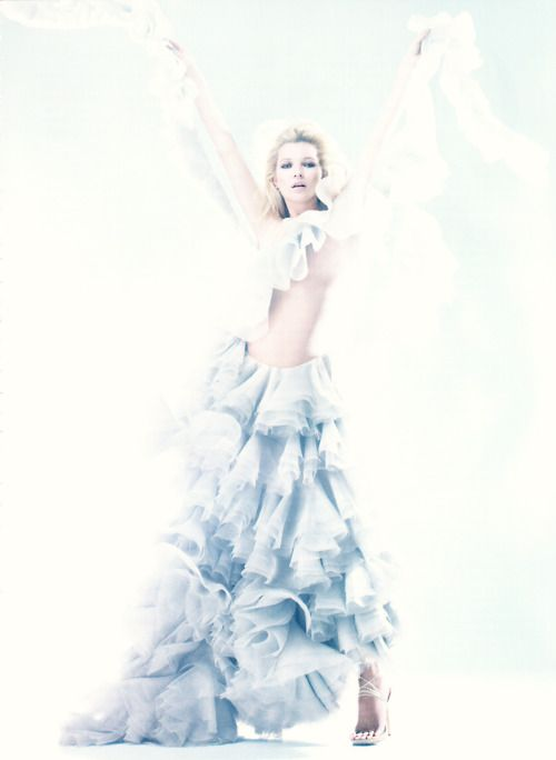 """""""The Real McQueen,"""" featuring Kate Moss, photographed by Sølve Sundsbø for Harper's Bazaar U.K. (May 2011)."""