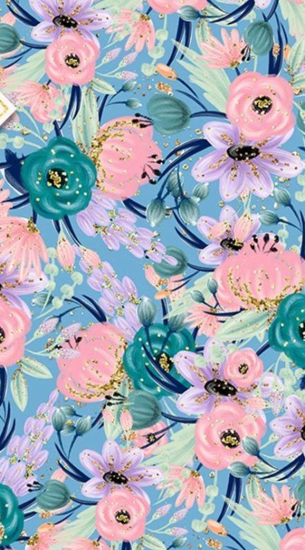 Best flowers pattern wallpaper iphone floral Ideas