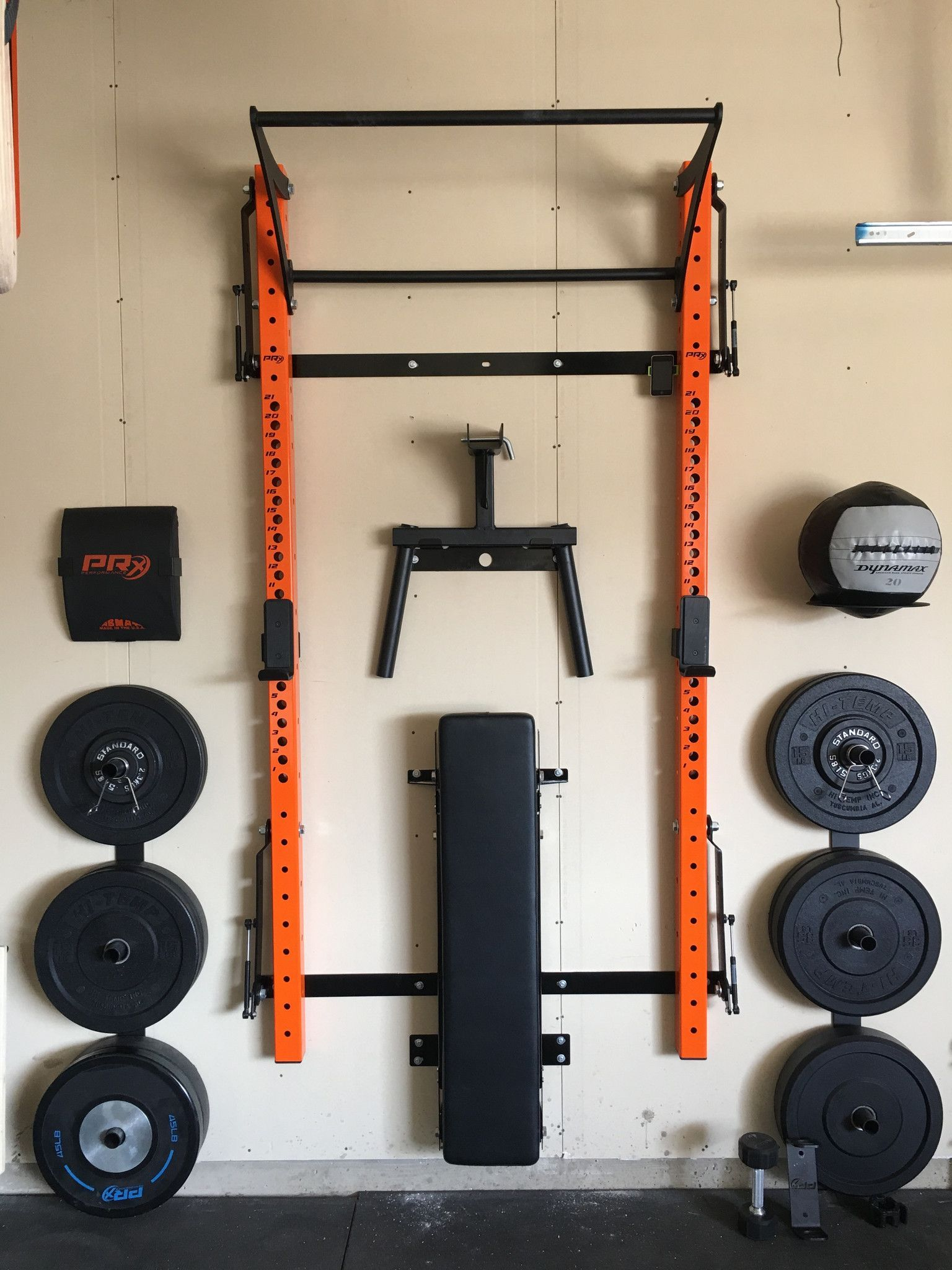 Prx multi purpose storage solution in garage gym at home