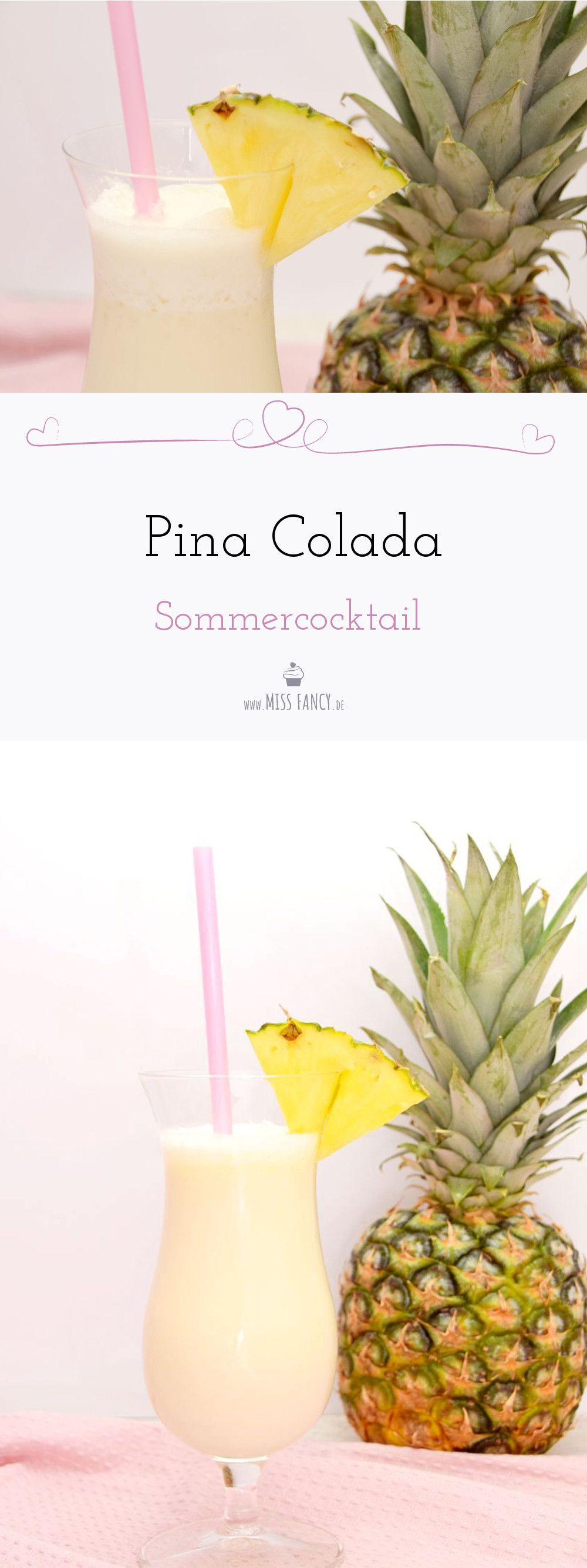 sommercocktail pina colada cocktails leckere cocktails. Black Bedroom Furniture Sets. Home Design Ideas