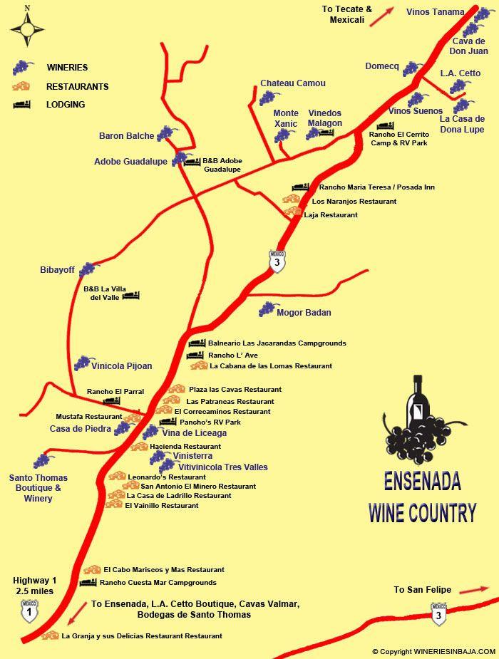Ensenada Wine Map | Things Casey MIght Like in 2019 ... on las arenas baja mexico, el rosario baja mexico, los frailes baja mexico, todos santos baja mexico, la fortuna baja mexico, la paz baja mexico, puerto nuevo baja mexico, las palmas baja mexico, de los angeles baja mexico, el socorro baja mexico, las animas baja mexico,