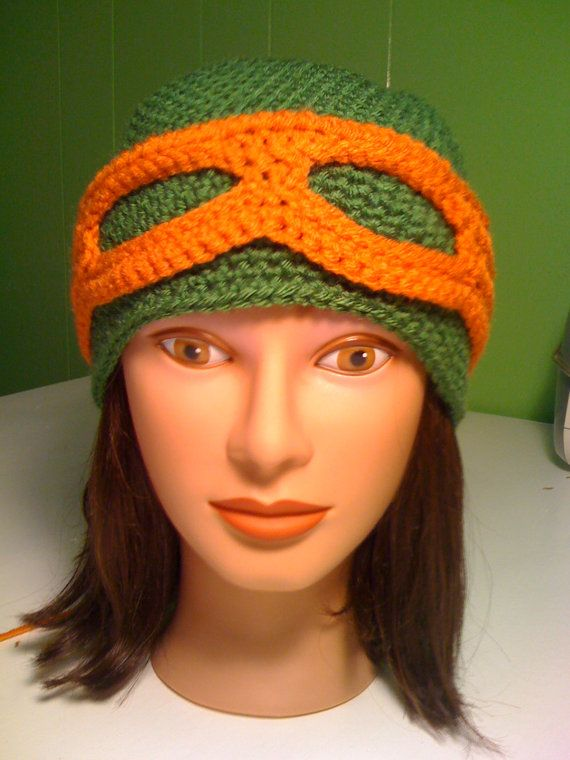 Crochet TMNT Teenage Mutant Ninja Turtle by TheStripedGiraffe13 ...