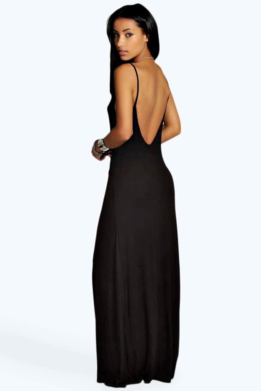 d03ca2edeb09 Strappy Low Back Maxi Dress | BooHoo | Dresses, Fashion, Low back