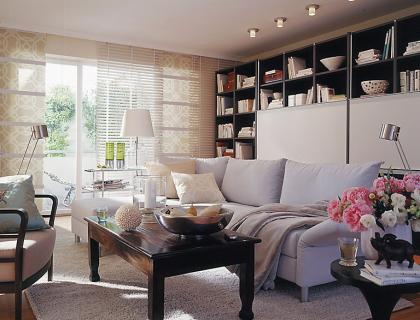 Große Räume - Wohnräume gekonnt gestalten | gemütliches Wohnen ...