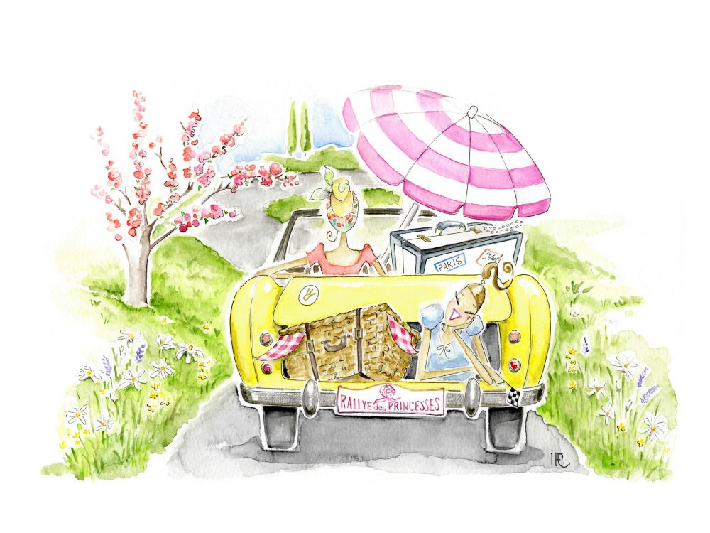 – Rallye des Princesses | Isabelle Fregevu-Claracq