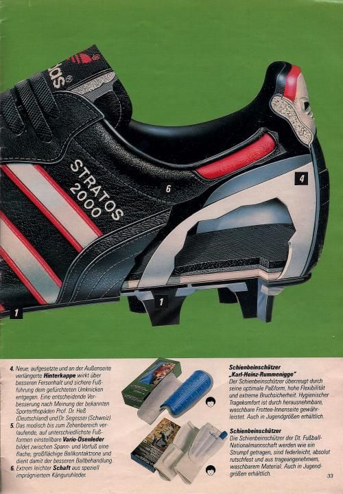 best service 59991 3ae50 Adidas 1985 Catalogue Page Soccer Art, Soccer Boots, Adidas Football,  Football Kits,