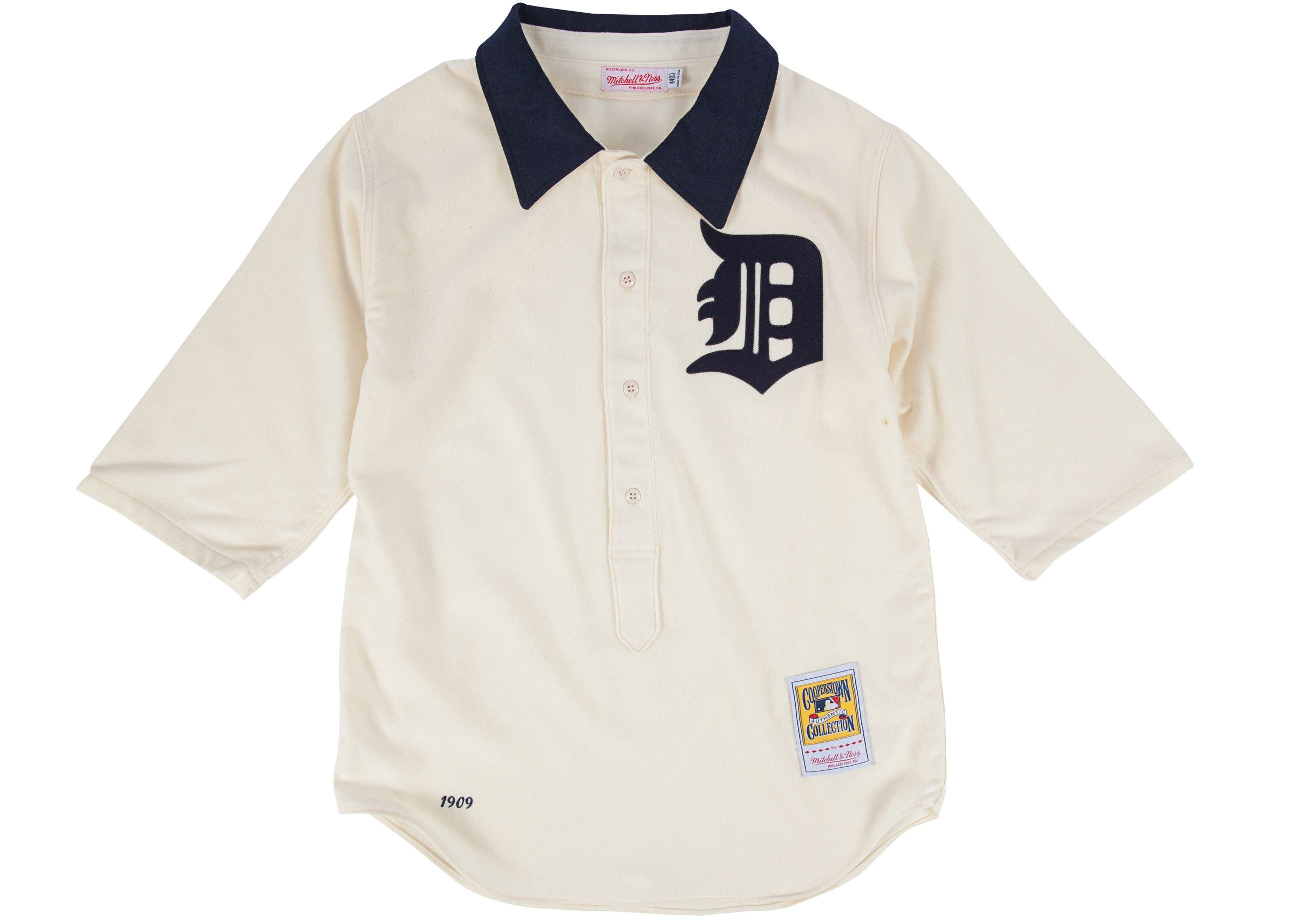 Ty Cobb 1909 Authentic Jersey Detroit Tigers  b8634cfdc
