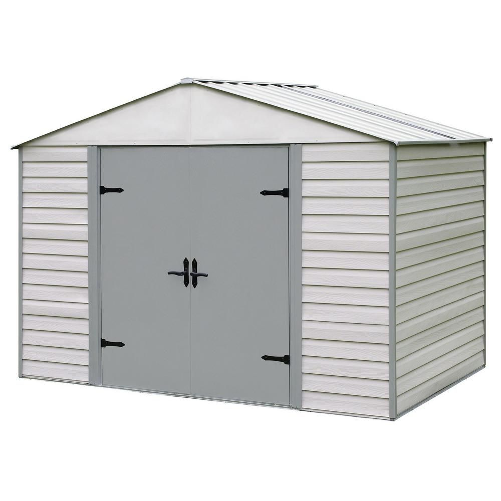 Arrow Vvcs107 Steel Storage Sheds Steel Sheds Rubbermaid Storage Shed