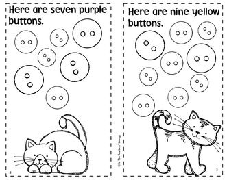 Pete the Cat activities: FREE BUTTONS BUTTONS emergent