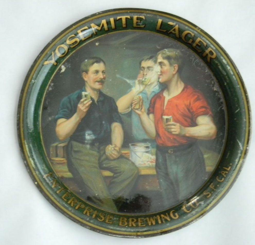 Bohemian Bar Reproduction Sign 14 Round Buffalo Brewing Co