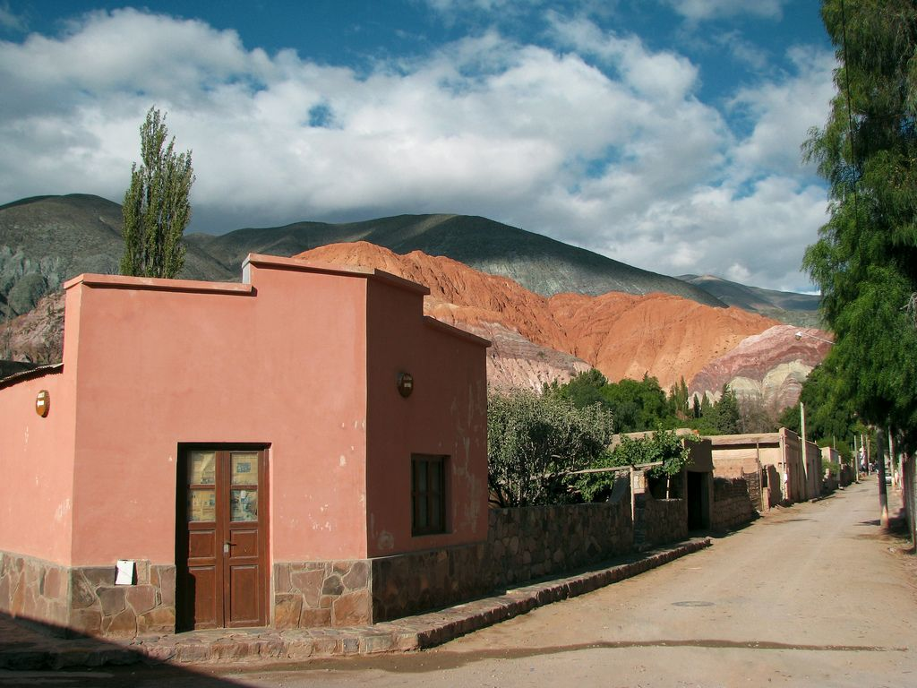 Purmamarca Norte Argentino Argentina Places Outdoor