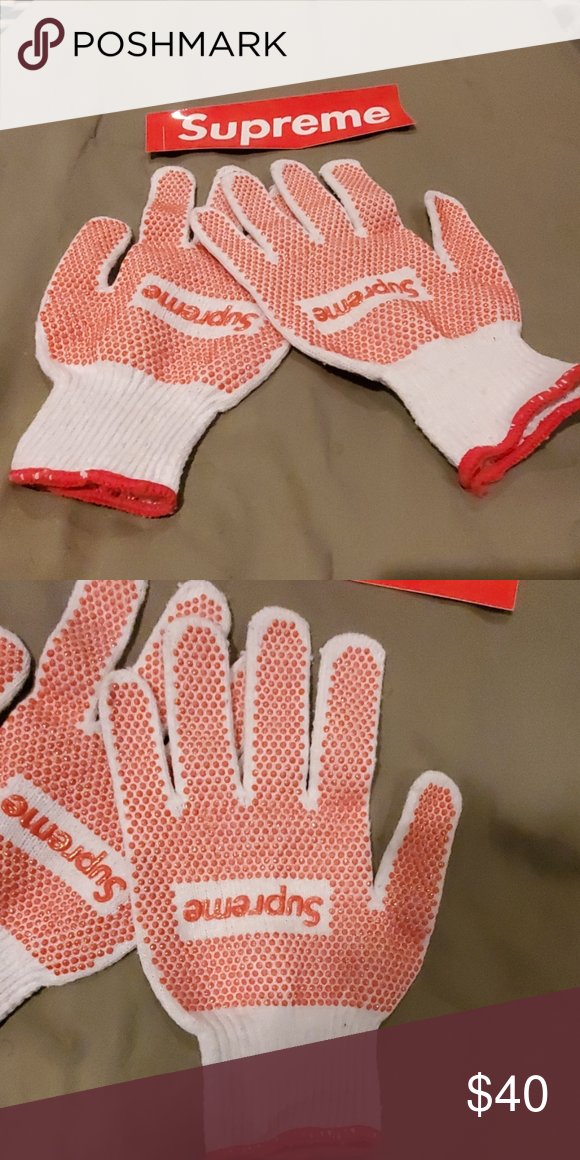 Supreme Gardening Gloves In 2020 With Images Gardening Gloves