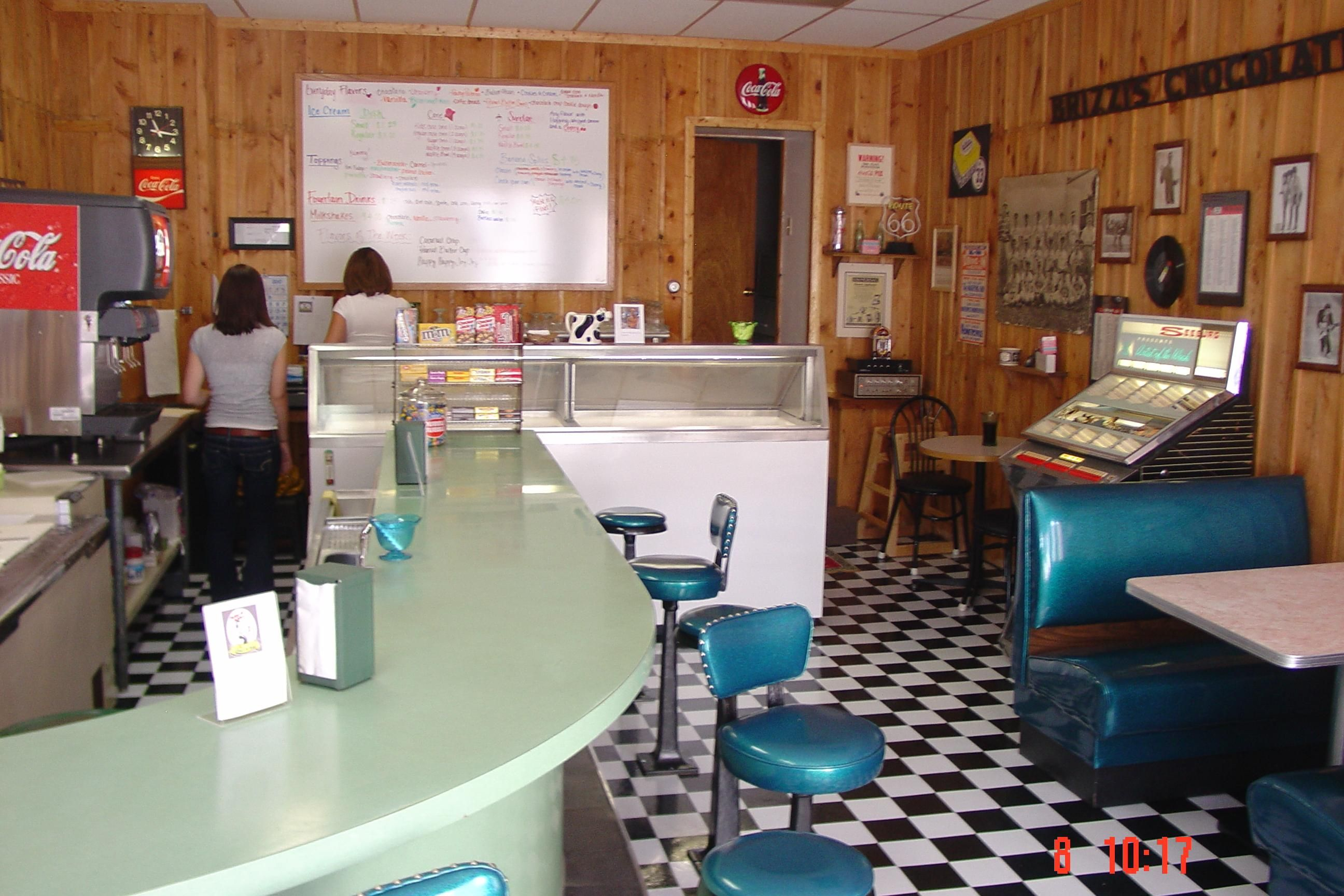 images of old fashioned ice cream parlor - Yahoo! Search Results