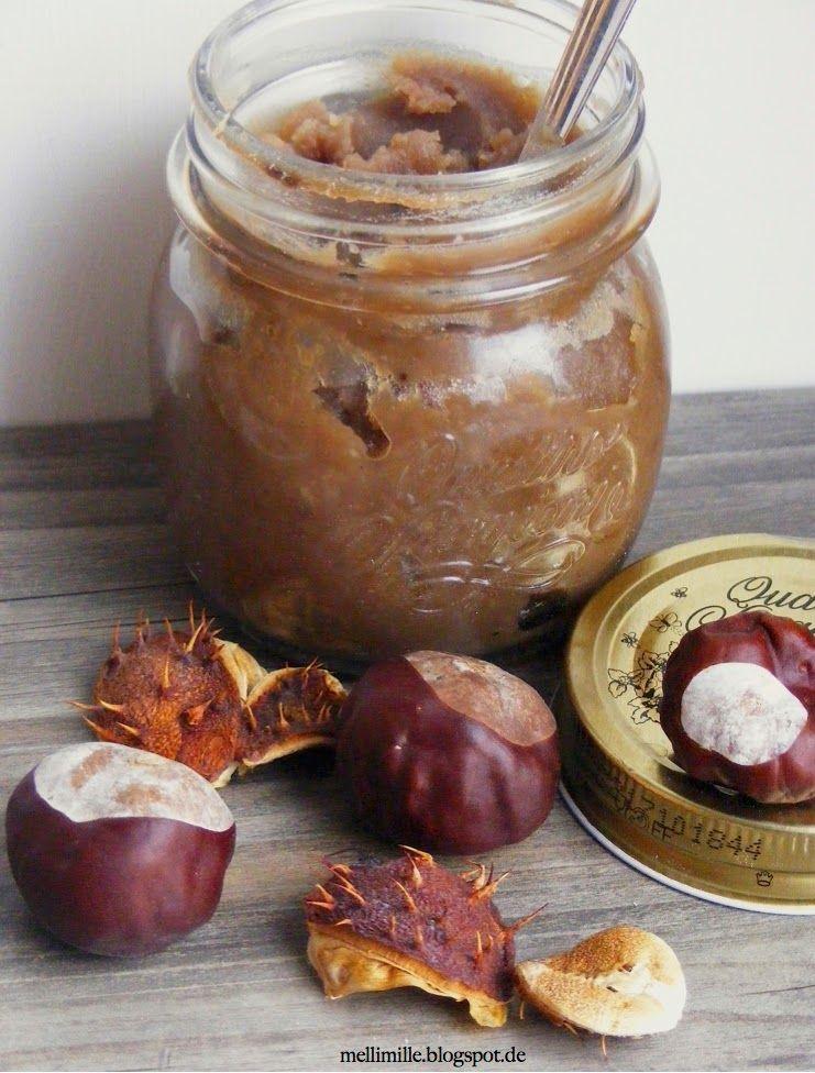 mellimille: Für die Eichhörnchen unter uns: Crema di Marroni (Kastanienaufstrich)