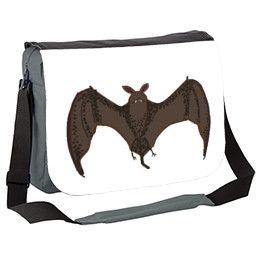Flying Bat Messenger Bag