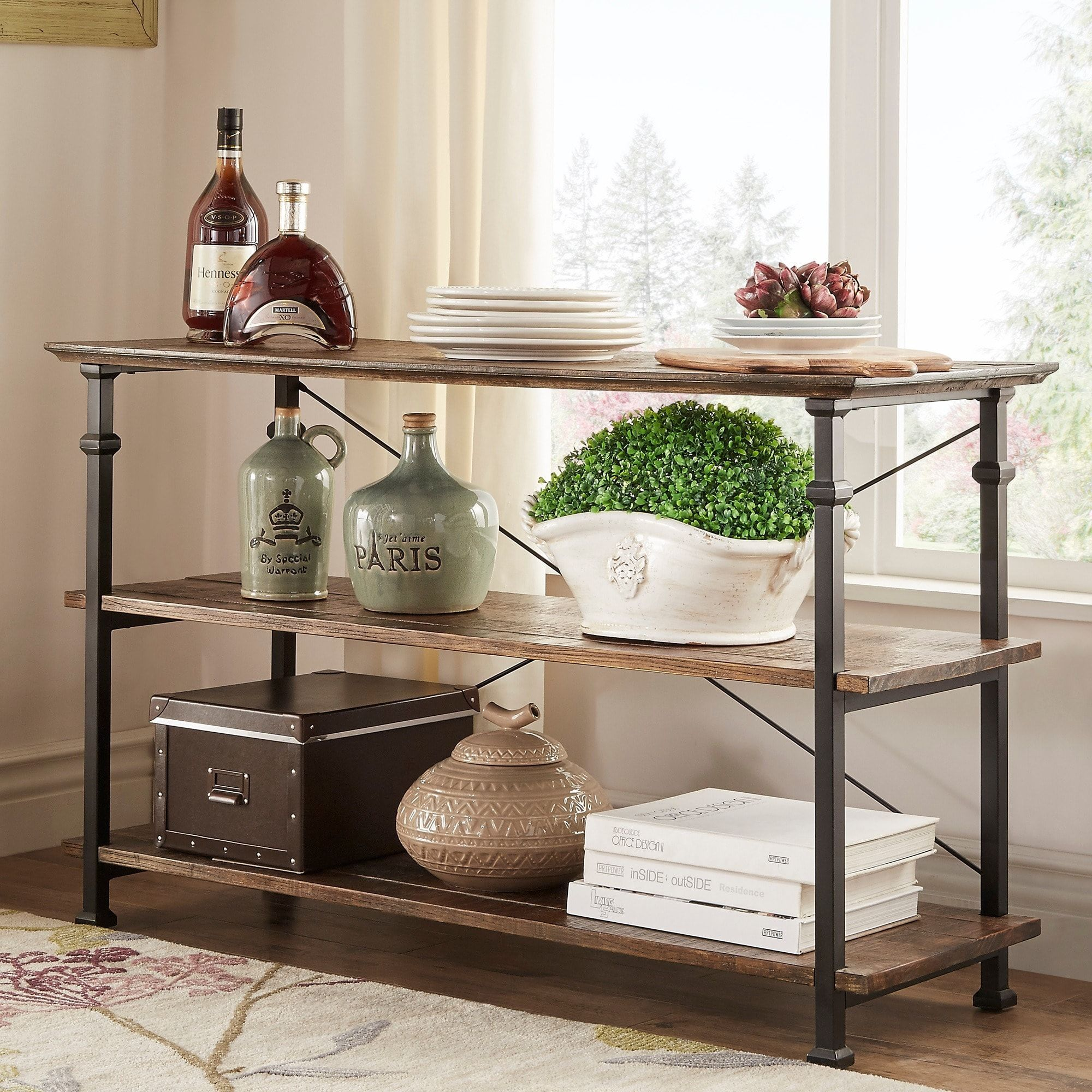 Myra Vintage Industrial TV Stand by iNSPIRE Q Classic | Overstock.com  Shopping - The