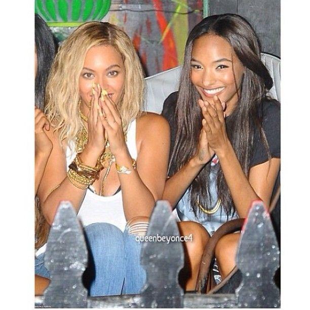 """Beyonce & Jourdan """"Happy Birthday Queen B """""""