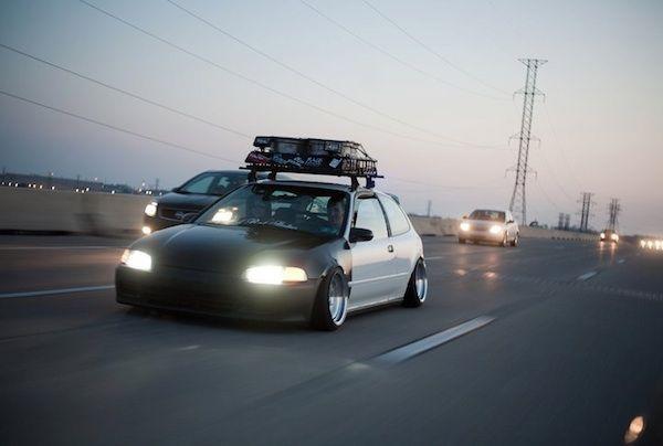 Eg Civic Roof Rack Slammed Civic Honda Honda Civic Cars
