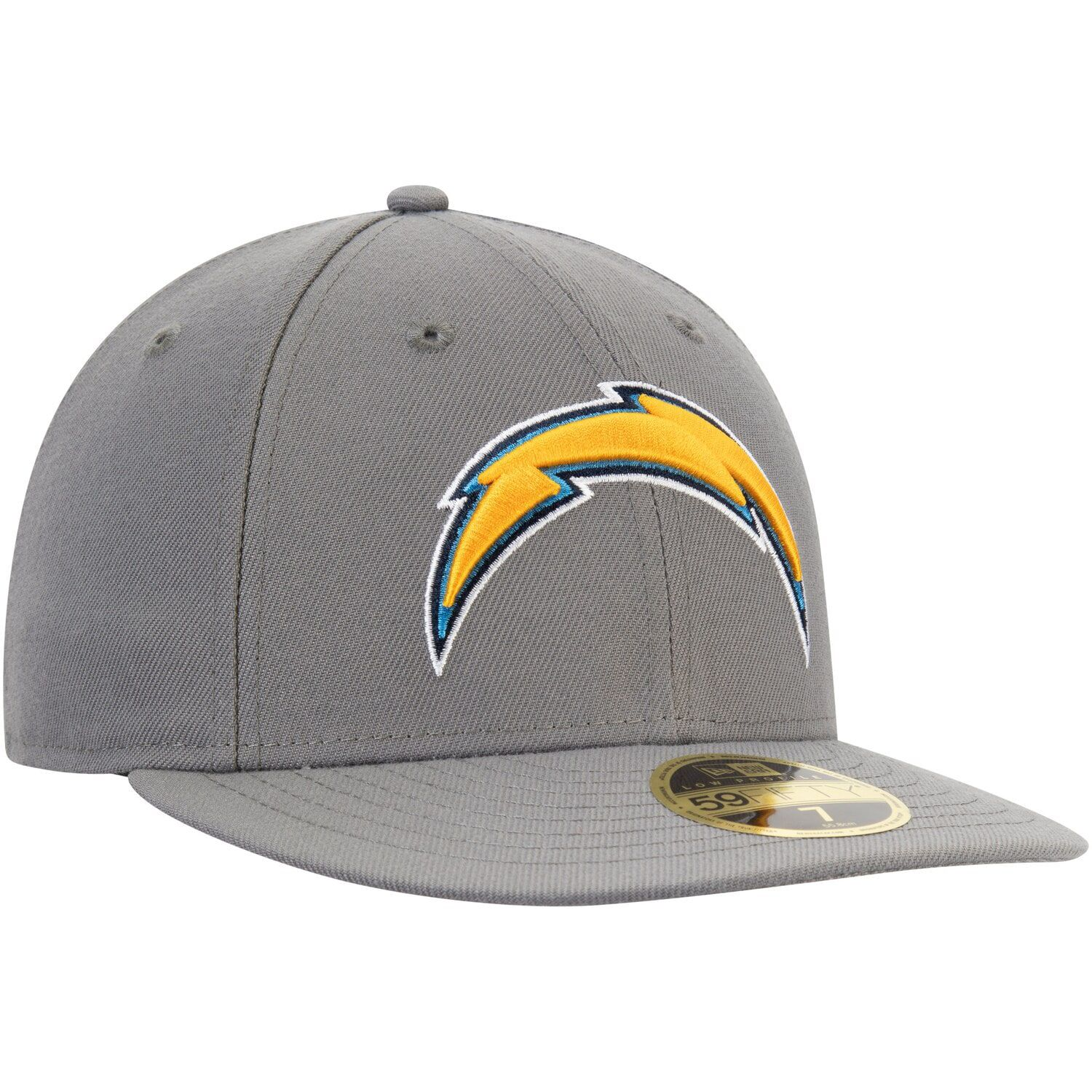 Men S New Era Graphite Los Angeles Chargers Storm Low Profile 59fifty Fitted Hat Affiliate Los Angeles Chargers Men In 2020 Fitted Hats New Era New Era Cap