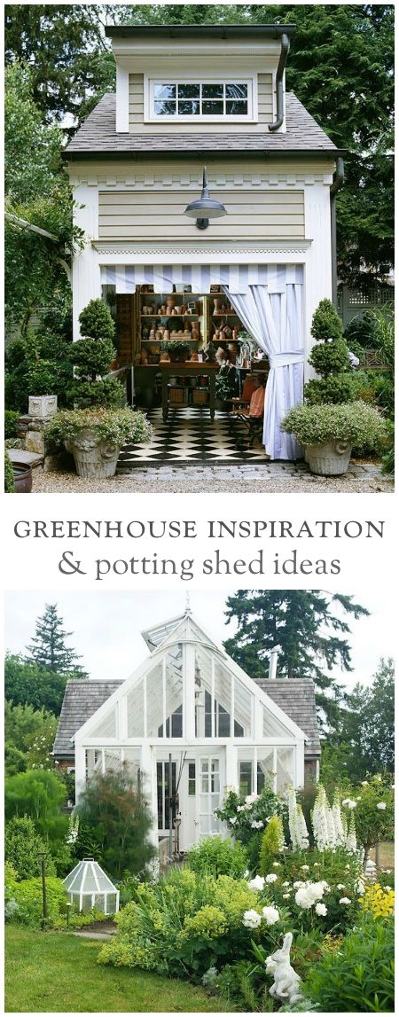 Vintage Greenhouses & Potting Sheds | Gardens, Collection and Garden ...
