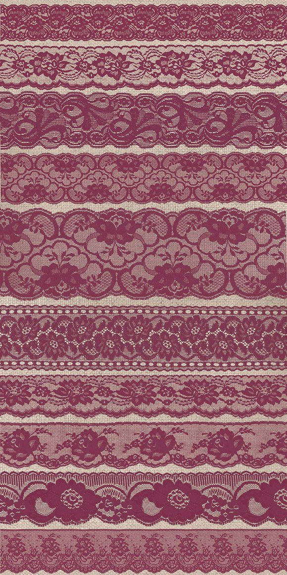 Burgundy Purple Lace Borders by Origins Digital Curio on @creativemarket