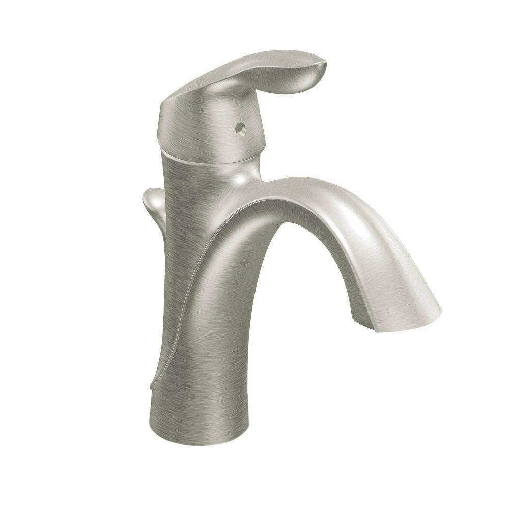 Moen 6400 Eva Polished Chrome One Handle Bathroom Faucets | eFaucets ...