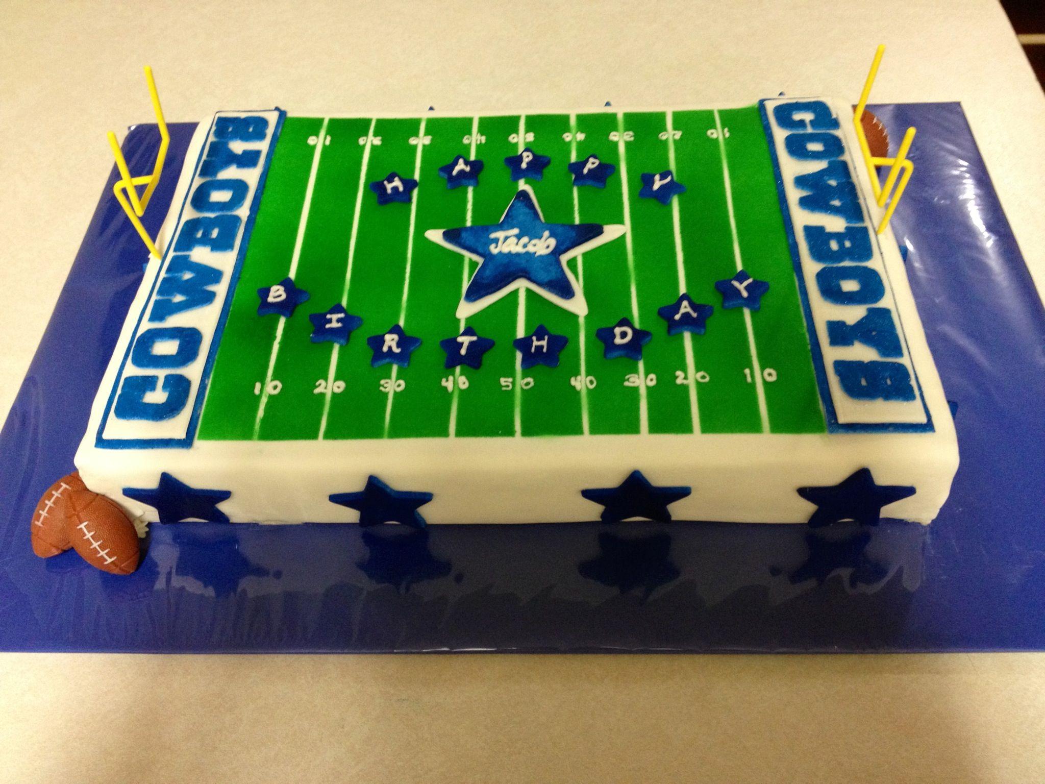 Dallas Cowboys cake Cakes Ive created Pinterest Dallas