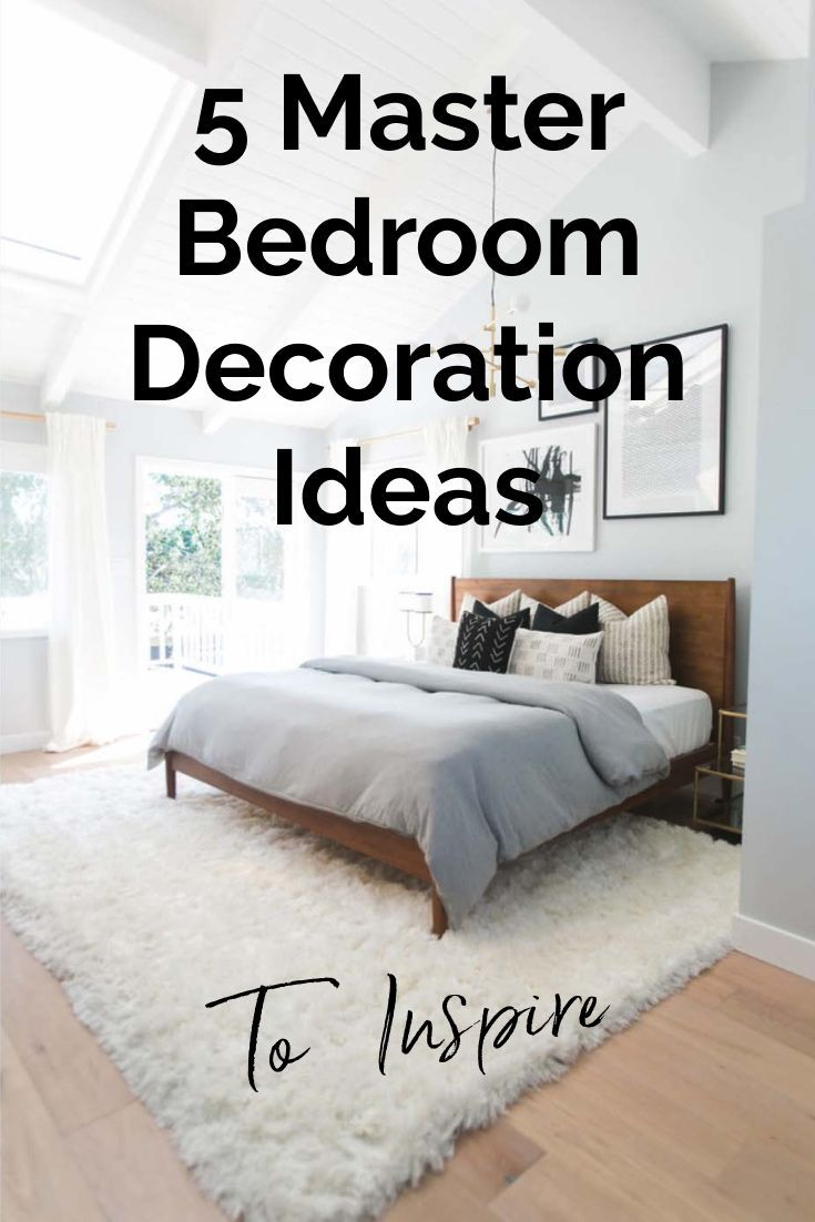 Simple master bedroom decor   Master Bedroom Decoration Ideas To Inspire You  Scandinavian