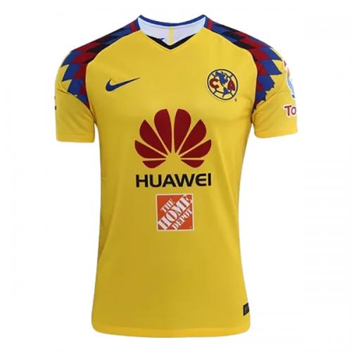 2018 Club America Third Away Yellow Soccer Jersey Shirt