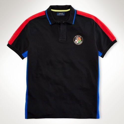 wholesale dealer 9ffaf 65fc7 cravatte ralph lauren, Uomini - Abitudine-Fit Pieced Polo ...