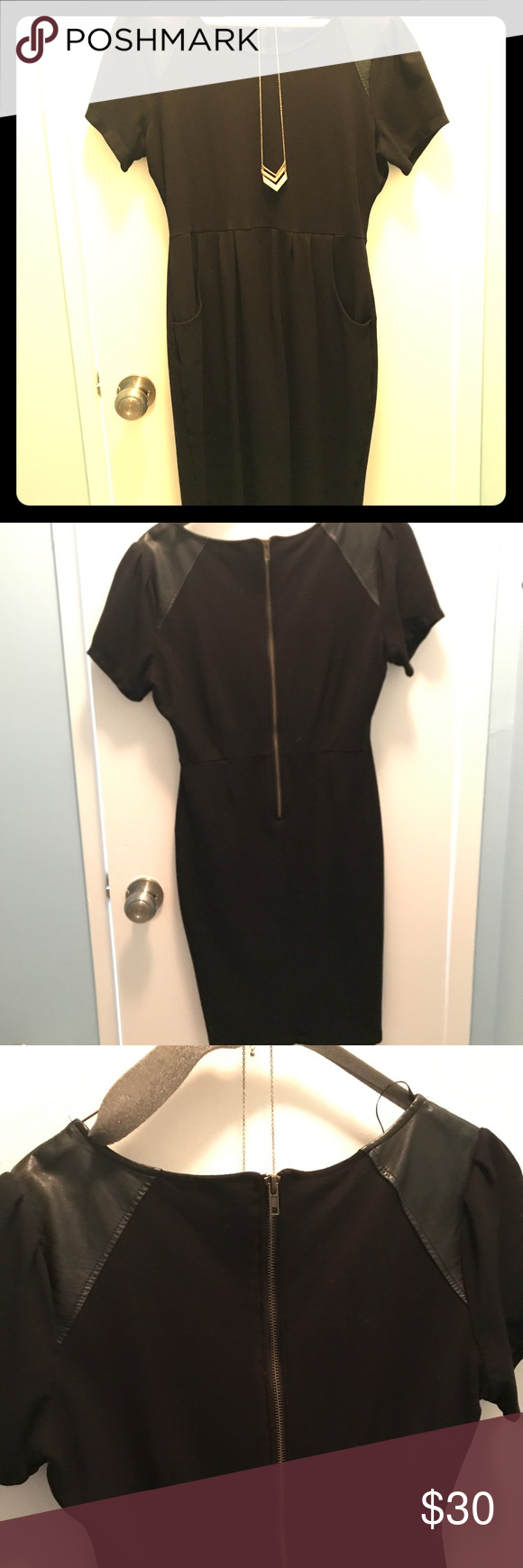 The Limited Black Dress With Pockets Black Dress With Pockets Black Dress Dresses [ 1740 x 580 Pixel ]