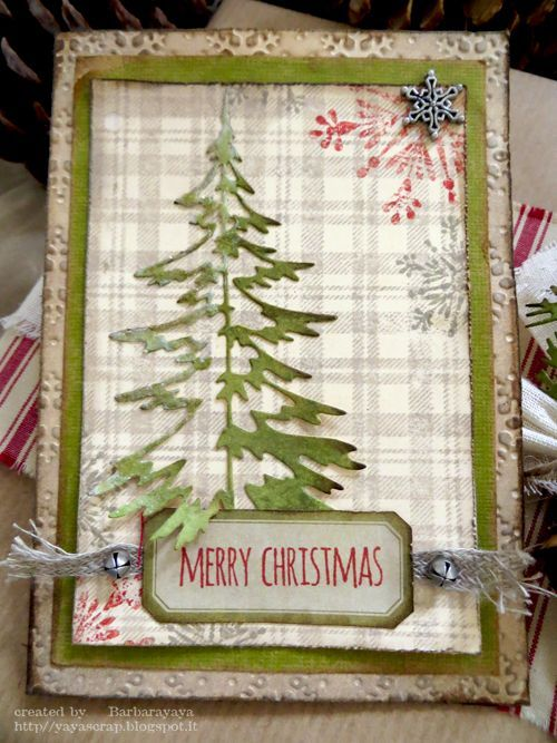 Tim Holtz Scrabby Christmas Google Search Christmas Tree Cards Christmas Cards Homemade Christmas Cards
