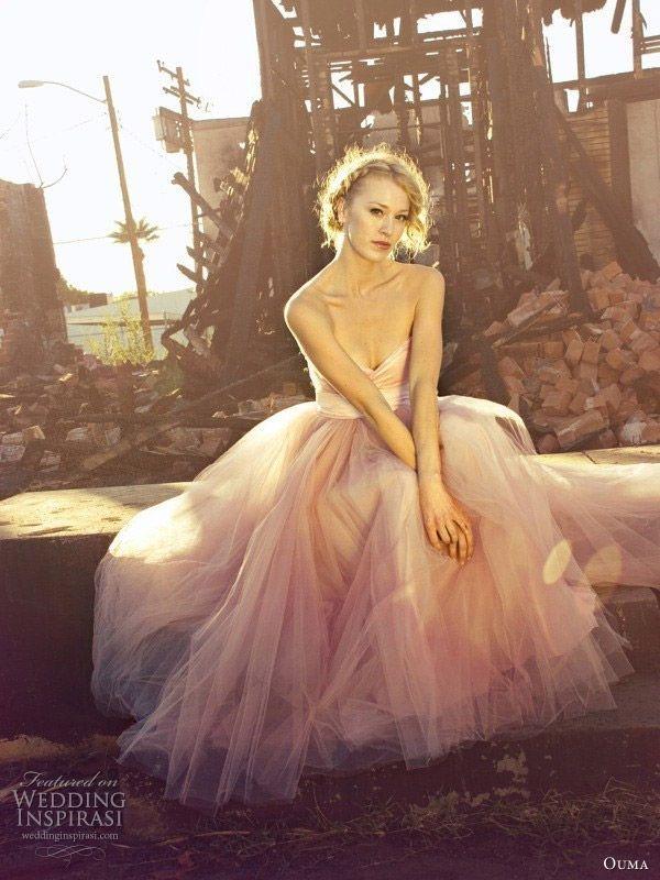 Ouma Wedding Dresses   Wedding dress, Pink wedding gowns and Weddings